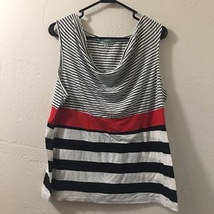 Women's Striped Tank Top XL